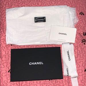 Chanel gift box & ribbon